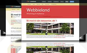 WordPress tema med 2 sideoppsett